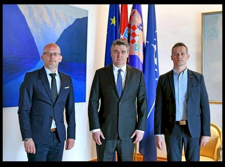 U posjetu Predsjedniku Republike  Hrvatske
